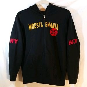 WWE Wrestlemania 35 Hoodie - Size Youth L